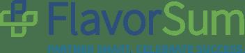 Flavoursum Email logo with tagline