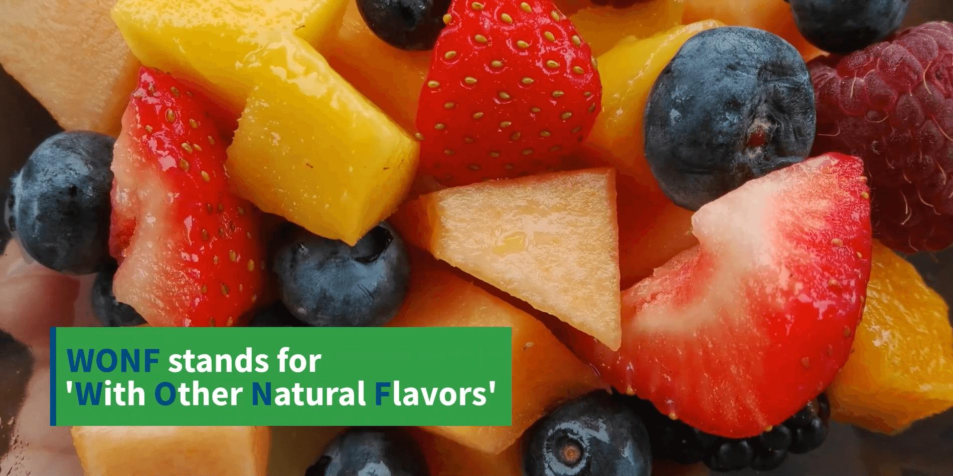 Natural WONF flavor